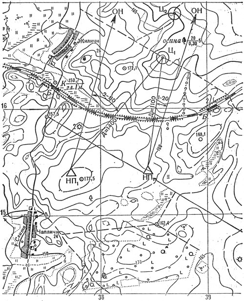 Целеуказание в полярных координатах без перерасчета данных для принимающего целеуказание